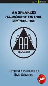 AA Fellowship, New York - 2001 poster