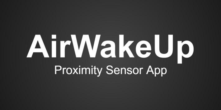 AirWakeUp poster