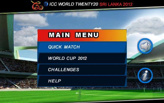ICC T20 World Cup 2012 apk स्क्रीनशॉट