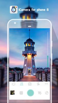ICamera Phone 8 - Camera OS 11 screenshot 4
