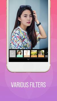 Camera For IPhone 8 Selfie Photo Editor Apk Screenshot