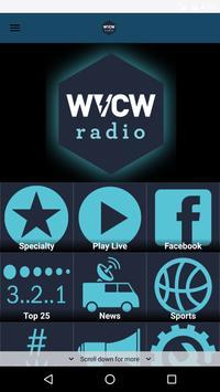 WVCW Radio at VCU poster