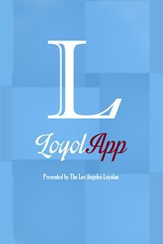 The LoyolApp poster