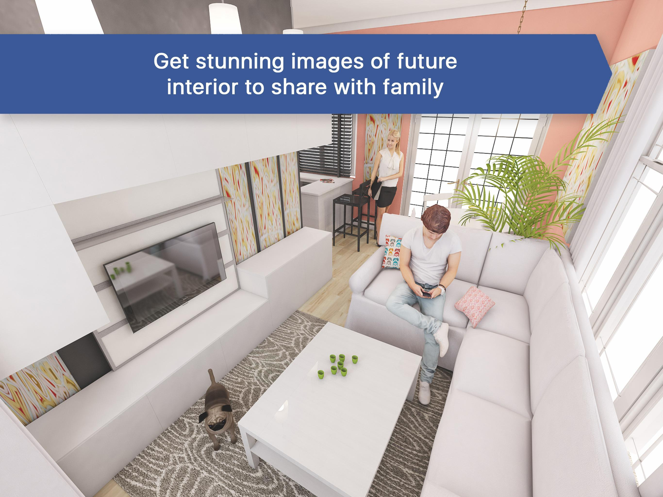 11D Living Room for IKEA - Interior Design Planner for Android