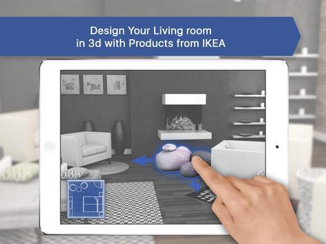 3D Living Room for IKEA - Interior Design Planner 截圖 8