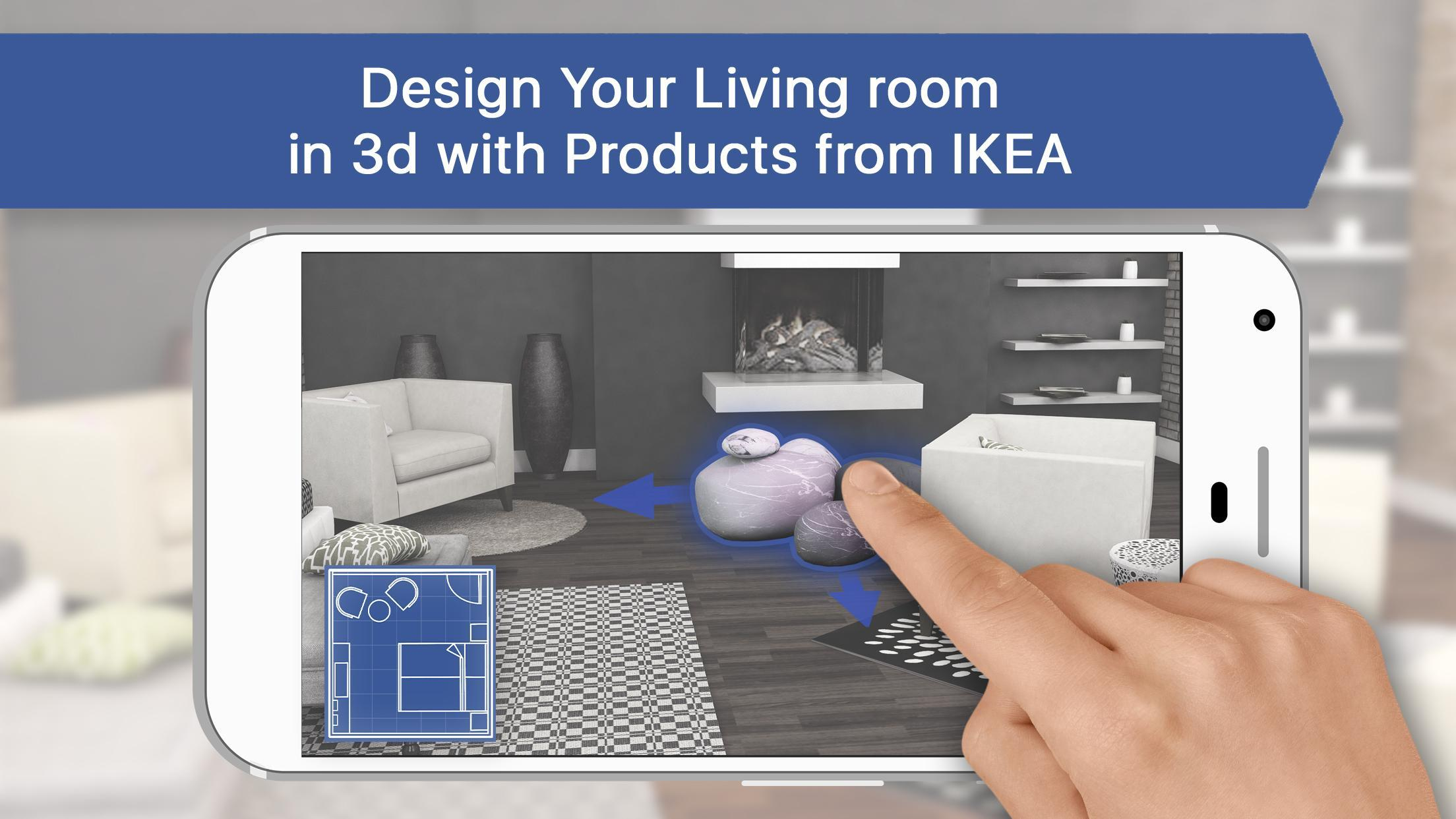 11D Living Room for IKEA - Interior Design Planner for Android - APK