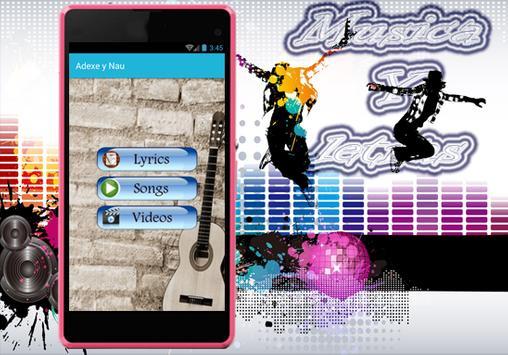 Adexe y Nau - Nuevo Sólo Amigos Musica Y Letras poster