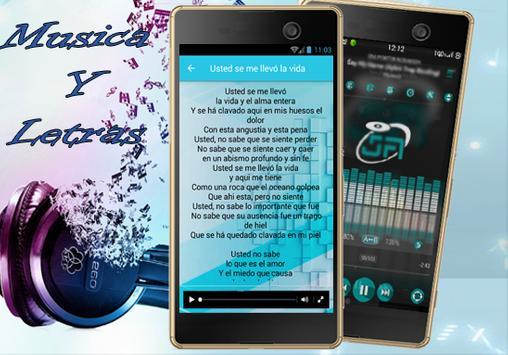 Alexandre Pires - Usted se me llevó la vida Lyrics apk screenshot