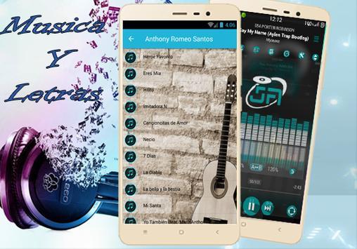 Anthony Romeo Santos - Imitadora Latest Musica apk screenshot