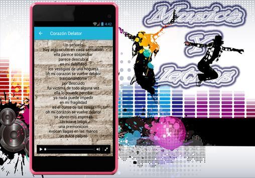 Soda Stereo - Trátame Suavemente Musica y Letra screenshot 2