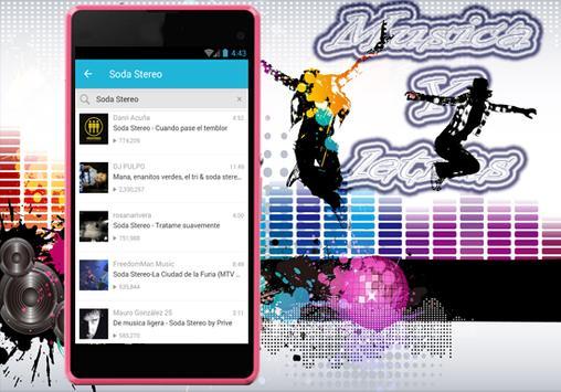 Soda Stereo - Trátame Suavemente Musica y Letra screenshot 3