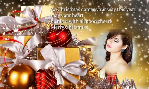 Merry Christmas Photo Greeting Frame 2018 screenshot 2