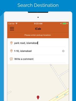 iCab Pakistan apk screenshot