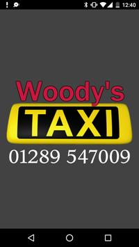 Woody's Taxi poster