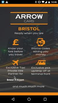 Arrow Cars Bristol poster