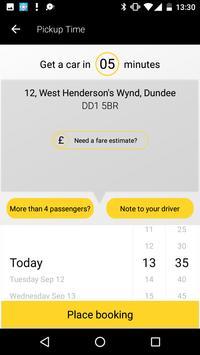 City Cabs Dundee screenshot 2