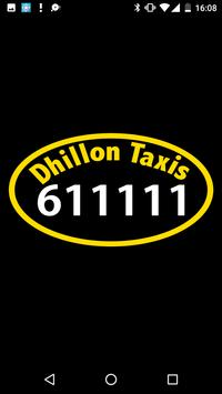 Dhillon Taxis App poster