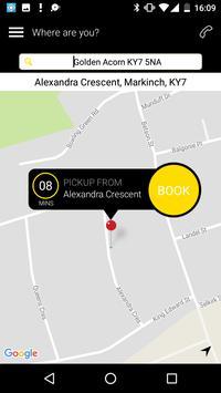 Dhillon Taxis App screenshot 1