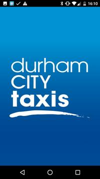 Durham City Taxis poster