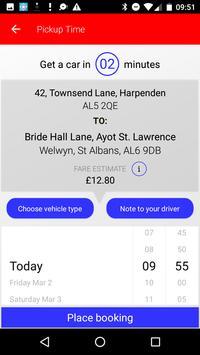 Harpenden & St Albans Taxis screenshot 3