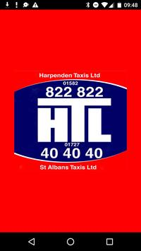 Harpenden & St Albans Taxis poster