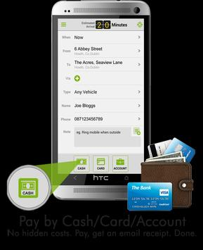 Gen1 iCabbi Consumer App Demo apk screenshot