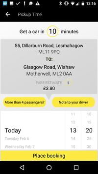 i Cab Taxi Lanarkshire screenshot 2
