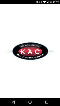 KAC Minicabs poster