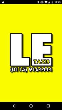 LE TAXIS poster