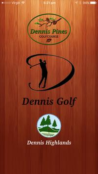 Dennis Golf poster