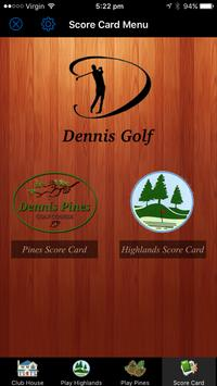 Dennis Golf apk screenshot