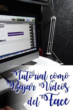 Bajar Videos de Face A Mi Celular Guía Gratis screenshot 4