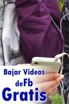 Bajar Videos de Face A Mi Celular Guía Gratis screenshot 1