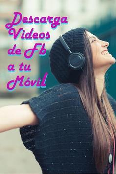 Bajar Videos de Face A Mi Celular Guía Gratis screenshot 2