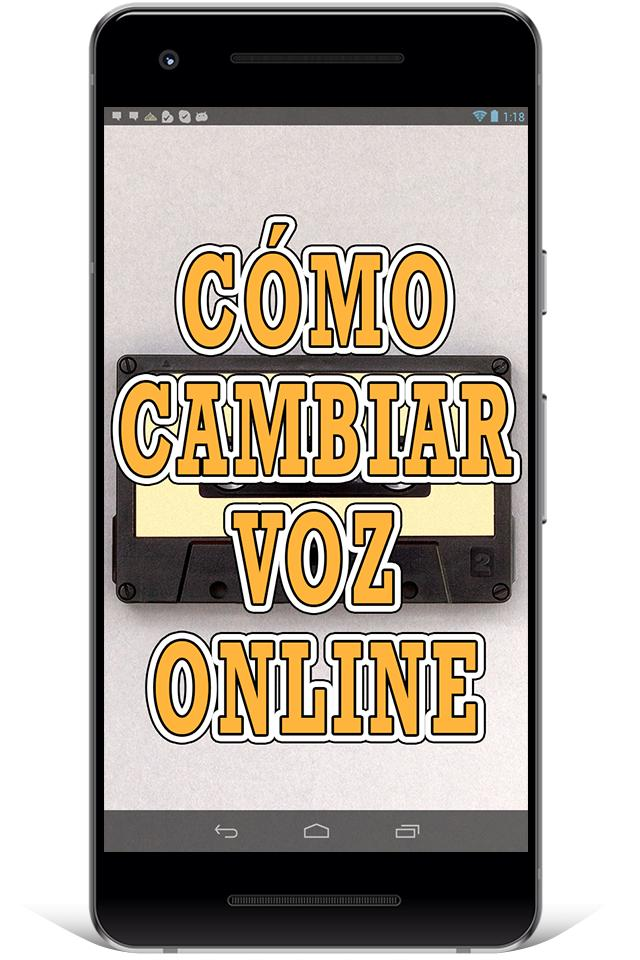 Cambiar Voz for Android - APK Download