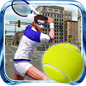 Tennis 3D Street league 2016 icon