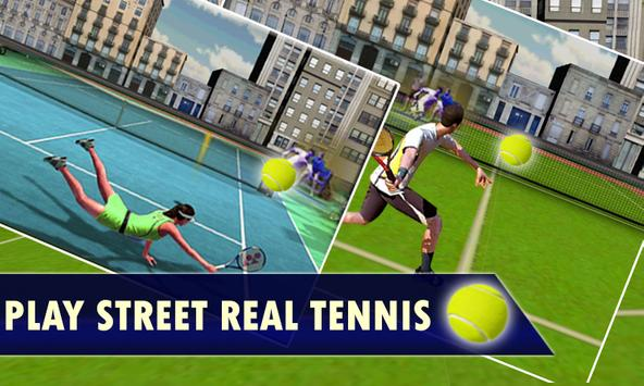 Tennis 3D Street league 2016 screenshot 1