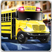 Learn Bus Driving Simulator 3D icon