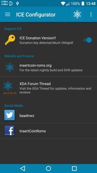 ICE Configurator (InsertCoin) apk screenshot