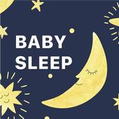 Baby sleep white noise icon