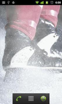 ice skating live wallpaper apk screenshot