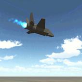 Flappy Jet 3D icon