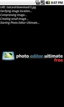 Photo Editor Ultimate Free poster