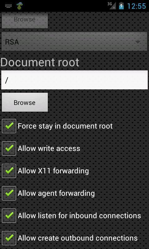 SSH Server for Android - APK Download
