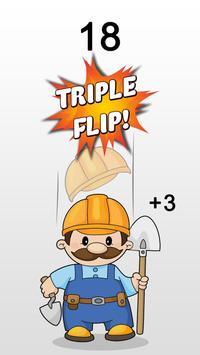 Hard Hat Flip Challenge apk screenshot