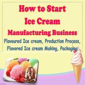 Icecream Manufacturing Business,Flavoured Icecream icon