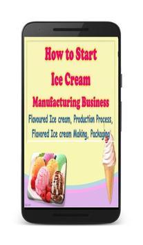 Icecream Manufacturing Business,Flavoured Icecream screenshot 1
