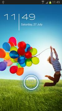 Galaxy S4 Go Locker Theme poster