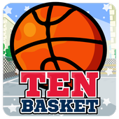 Ten Basket - Basketball Game icon