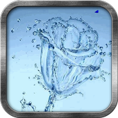 Ice Flower Live Wallpaper icon